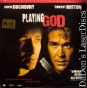 Playing God AC-3 WS Rare NEW LD LaserDisc Duchovny Hutton Drama