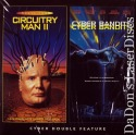 Plughead Rewired Circuitry Man 2 Cyber Bandit NEW LaserDisc Sci-Fi