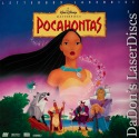 Pocahontas AC-3 THX WS Rare LaserDisc NEW Disney Animation