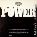 Power Rare LaserDisc LD Gere Washington Hackman Drama