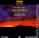Predator 2 Widescreen Rare LaserDisc Danny Glover Gary Busey Sci-Fi