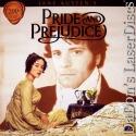 Pride and Prejudice Rare LaserDisc Box TV Firth Ehle Drama