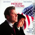Primary Colors AC-3 WS NEW LaserDisc Travolta Thompson Comedy