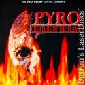 Pyro LaserDisc Rare NEW LD Roan Sullivan NoDVD Horror