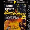 Quatermass 2 Rare LaserDisc Roan Group Donlevy Longden Sci-Fi
