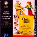 Quiet Man 40th Annual LaserDisc Box Set John Wayne Drama