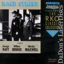 Race Street RKO LaserDisc Raft Maxwell Bendix Drama