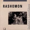 Rashomon Criterion #49 Rare LaserDisc Vintage Drama Foreign