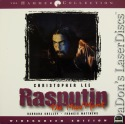 Rasputin the Mad Monk Elite Uncut WS NEW LaserDisc Christopher Lee Drama