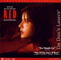 Red Trois Couleurs Rouge WS Rare LaserDisc NEW Drama Foreign