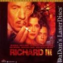 Richard III 1995 AC-3 WS NEW LaserDisc McKellen Bening Drama