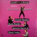 Robin and the 7 Hoods WS NEW LaserDisc Sinatra Martin Comedy