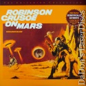 Robinson Crusoe on Mars CAV WS Criterion #184 LaserDisc Mantee Sci-Fi
