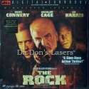 The Rock DTS THX WS Rare NEW LaserDisc Connery Cage Action