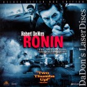Ronin AC-3 WS LaserDisc Rare LD De Niro Reno McElhone Spy Thriller