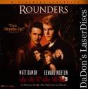 Rounders AC-3 WS Mega-Rare LaserDisc Damon Norton Poker Drama