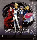 Sakura Wars Vols. 1-6 Rare AC-3 Japan Only LD Box Set Anime