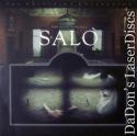 Salo Widescreen Criterion LaserDisc #209 Pasolini Drama Foreign