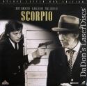 Scorpio NEW Mega-Rare LaserDisc Burt Lancaster Alain Delon Spy Drama