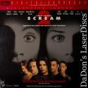 Scream 2 DTS WS Rare NEW LaserDisc Arquette Campbell Cox