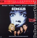 Scream DTS WS Rare UNCUT UNRATED LD Arquette Campbell