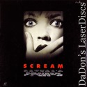 Scream Deluxe LaserDisc Edition Box AC-3 WS Japan Only Horror
