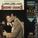 Second Chance Rare NEW RKO LaserDisc Palance Darnell Drama *CLEARANCE*