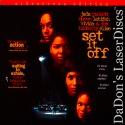 Set It Off AC-3 WS Rare LaserDisc LD Latifah Elise Fox Drama