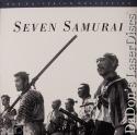 Seven Samurai NEW Criterion #67A Rare LaserDisc Kurosawa Drama Foreign *CLEARANCE*