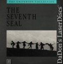 The Seventh Seal Rare Criterion #10A LaserDisc Bergman Drama Foreign