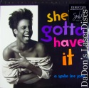 She's Gotta Have It WS Criterion #229 Rare LaserDisc Comedy