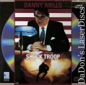 Shock Troop LaserDisc Aiello Alzado Action *CLEARANCE*