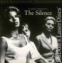 The Silence NEW Criterion LaserDisc 166 Bergman Drama Foreign