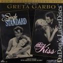 The Single Standard / The Kiss NEW Rare Silent LaserDisc Garbo Romantic Drama