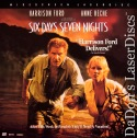 Six Days, Seven Nights AC-3 WS Rare LaserDisc Ford Heche Comedy