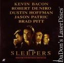 Sleepers AC-3 WS Rare LaserDiscs DeNiro Hoffman Pitt Courtroom Drama