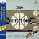 Sony The Test Disc MUSE Hi-Vision Rare LD HDTV 1080i