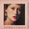 Sophies Choice WS Pioneer Special Edition NEW LD Boxset