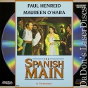 The Spanish Main LaserDisc Rare O'Hara Hanreid Barnes Action