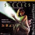 Species AC-3 THX WS Rare LaserDisc Natasha Henstridge Ben Kingsley Sci-Fi