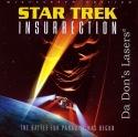 Star Trek Insurrection AC-3 WS Rare LaserDisc Stewart Frakes Spiner Sci-Fi