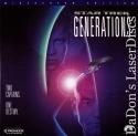 Star Trek VII Generations +CAV AC-3 WS Rare LaserDisc Shatner Sci-Fi