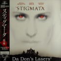 Stigmata AC-3 WS Japan Only Rare NEW LD Arquette Horror