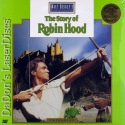 The Story of Robin Hood Disney NEW LaserDisc Todd Rice