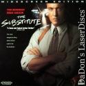 The Substitute AC-3 Widescreen Rare LaserDisc Action
