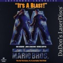 Super Mario Bros. Widescreen Mega-Rare LaserDisc Hoskins Sci-Fi