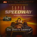 Super Speedway DTS IMAX Rare NEW LaserDisc Andretti Racing Documentary