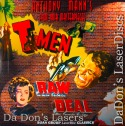 T-Men Raw Deal Roan Double Feature NEW Rare LaserDisc Thriller