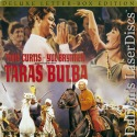 Taras Bulba Mega-Rare LaserDisc Brynner Curtis Action