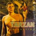 The Tarzan Collection Rare LaserDisc Boxset 4 Movies